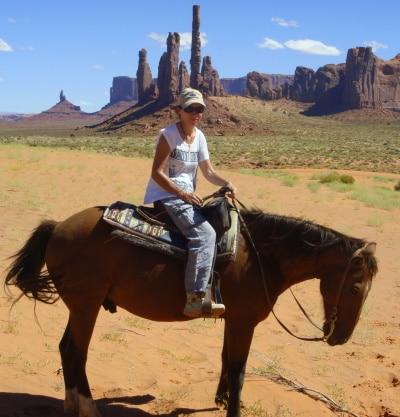 Laurence Castaner Ecrivain Public Copywriter aventures Monument Valley
