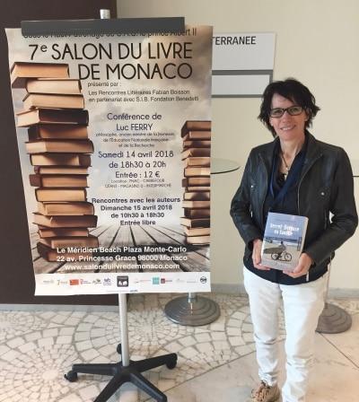 Laurence Castaner - Ecrivain Public Salon du livre Monaco dédicace roman